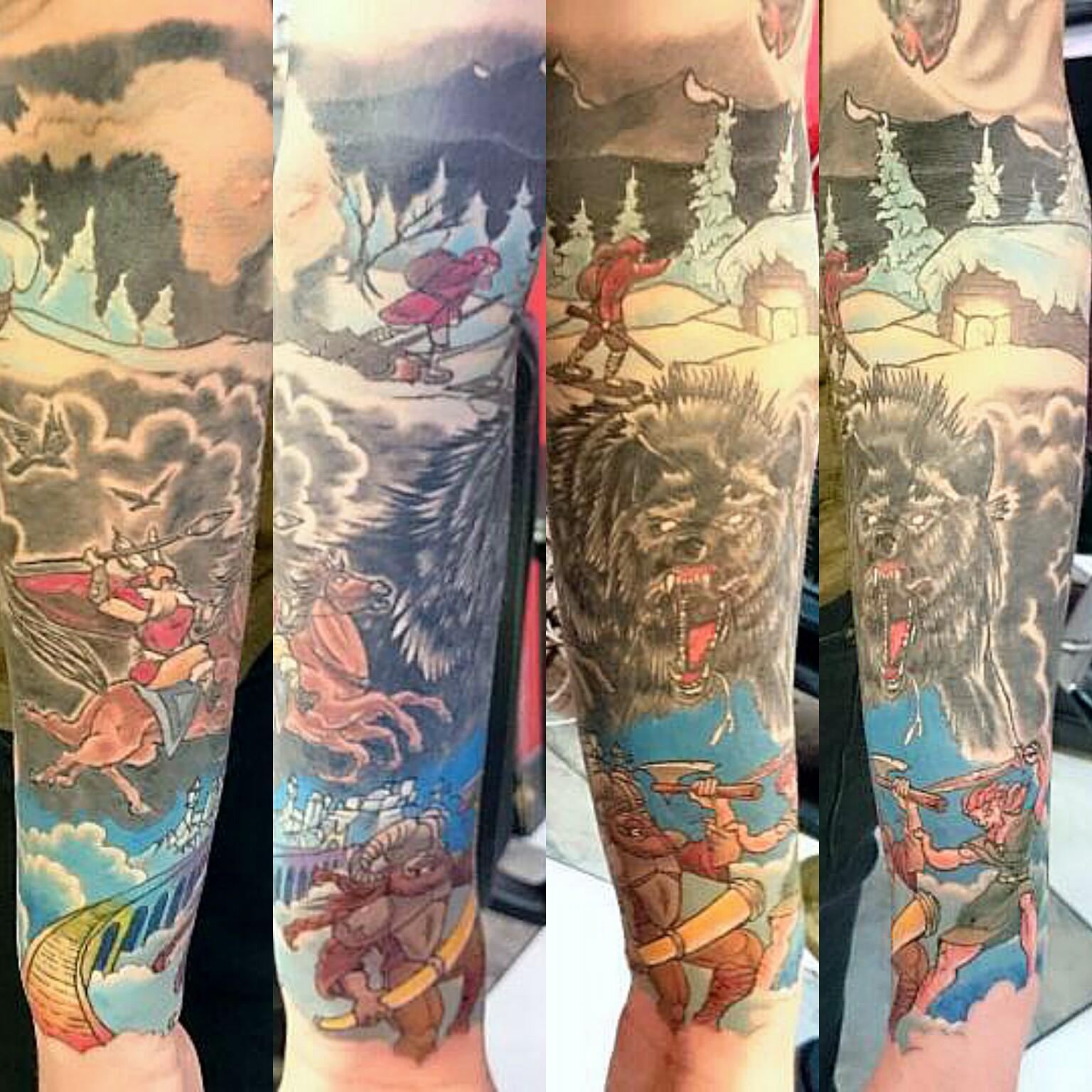 Norse Half Sleeve